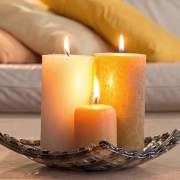 Kerzen, Kamin- & Grillanzünder