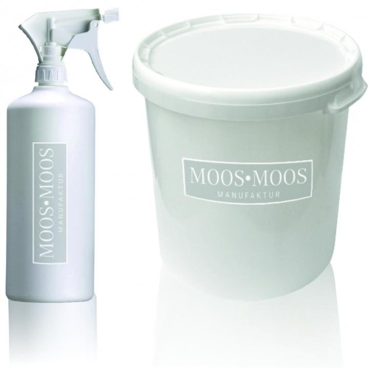Moos•Moos Farbe inklusive Präparation in Apfelgrün   (10 Kg)