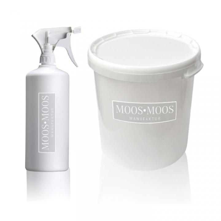 Moos•Moos Farbe inklusive Präparation in Moosgrün