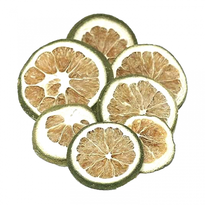 Orangenscheiben in Grün ( 1000g )