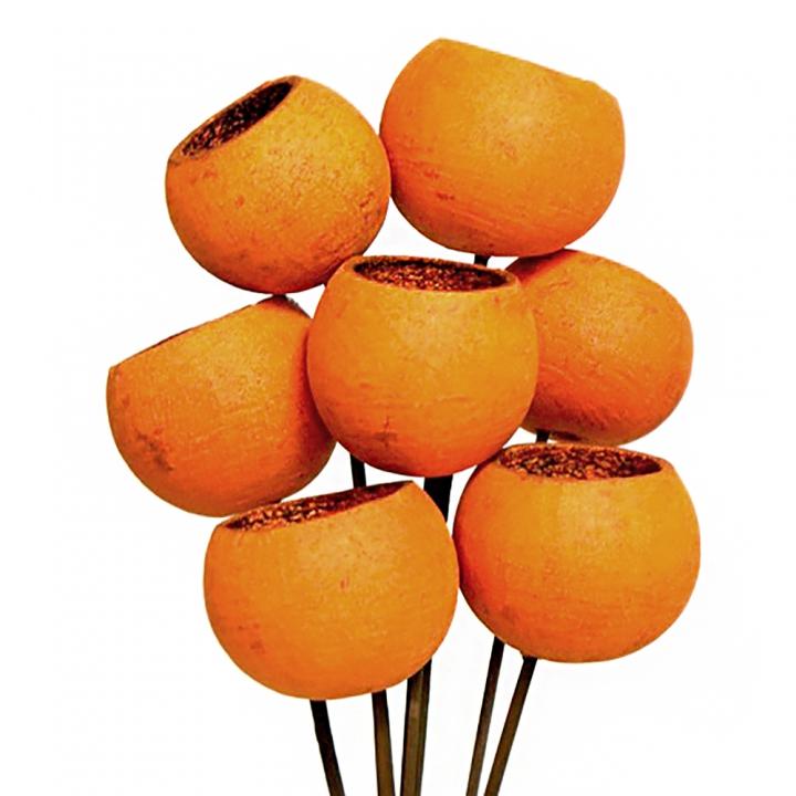 Bell Cup mini am Stiel in Orange (500 Stück)