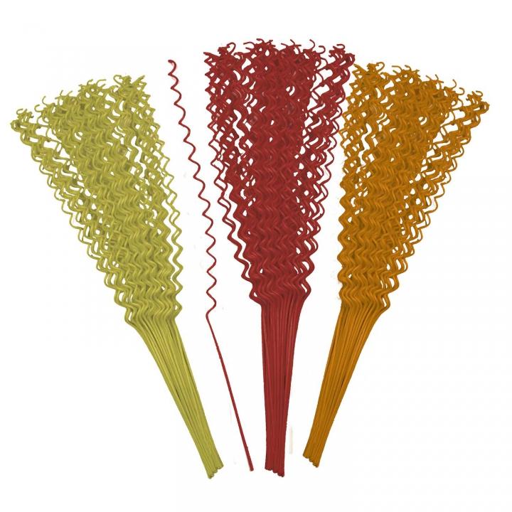 Sortiment Cane Wire Spiral Mini 4fach Farbmix ( 400 Stück )