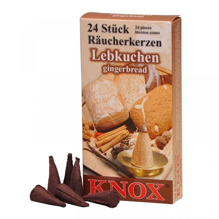 KNOX Räucherkerzen Räucherduft Lebkuchen 24 Stück/ Pck.