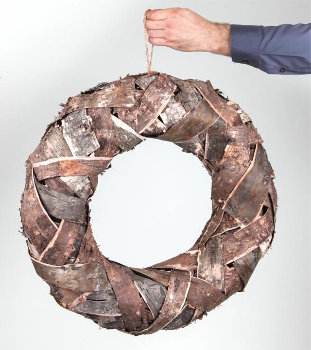 Rindenkranz Natur klein Ø 50cm     (3 Stück)