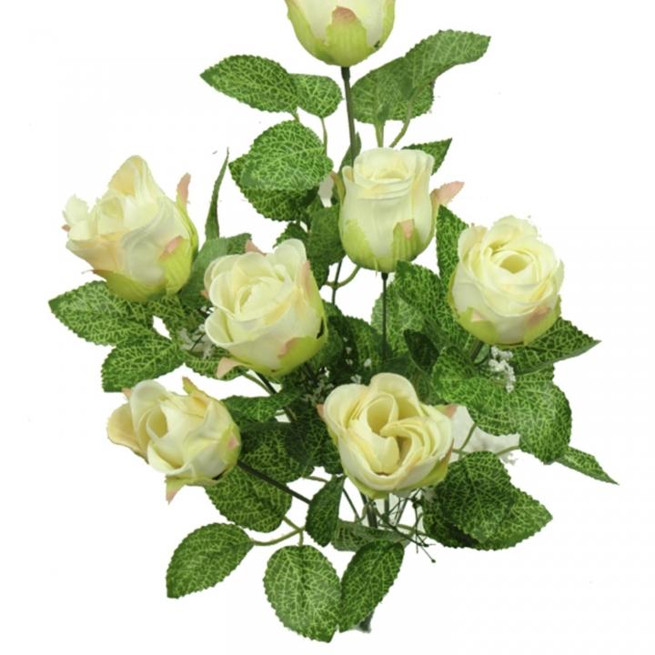 Sortiment Rosenstrauß 4fach je 6 Stück im Farbmix ( 24 Stück )