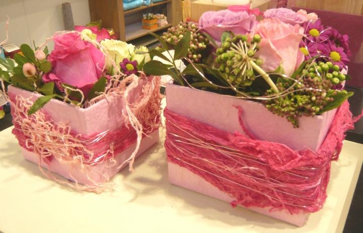Maulbeerbaum Rinde gerupft in Pink ( ca. 150g pro Beutel )
