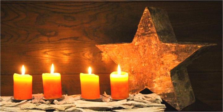 Kerzenständer aus Pfirsichwurzel in Stonewashed ( Ø 60cm lang ) (6 Stück)