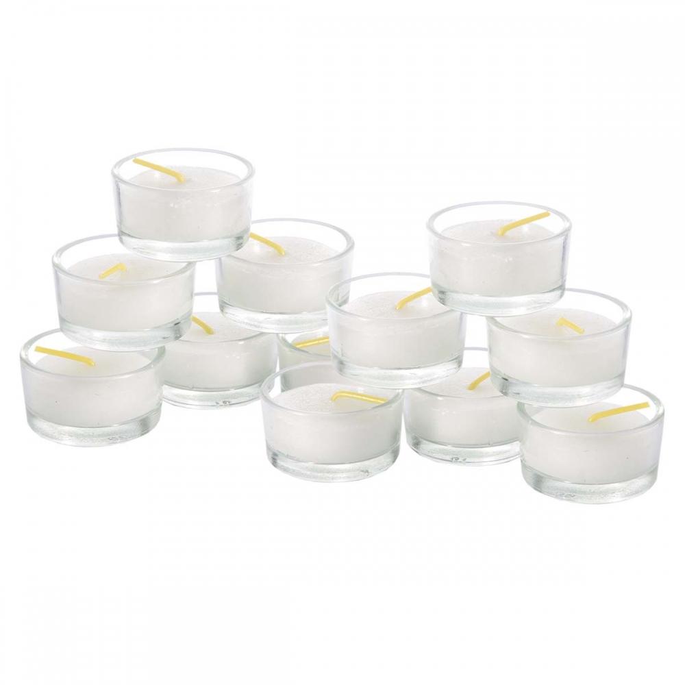 * Teelicht und Mini Aschenbecher in einem aus Glas *