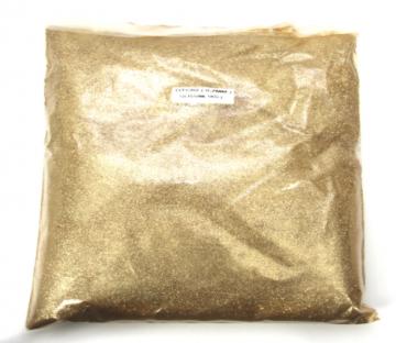 Profi Glitter / Glitzer / Glimmer Gold (1000 g)