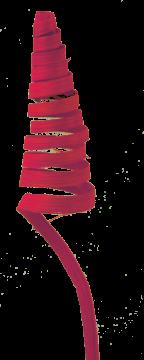 Cane Cone mini in Rot (3 Stück)