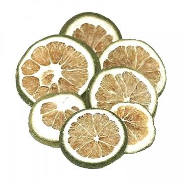 Orangenscheiben grün (1000g)