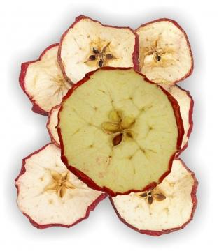 Apfelscheiben rot (1000g)