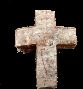 Cocoskreuz groß stonewashed (50 Stück)