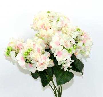 Hortensien Strauß rosa (18 Stück)
