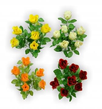 Rosenstrauß 4fach je 6 Stück ( 24 Sträuße)