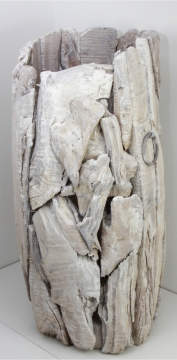 Wurzelholz Vase groß ca. 70cm hoch in Stonewashed