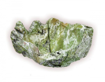 Wurzelholz Schale Rustika klein ca. 30cm frosted grün