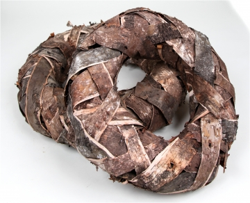 Rindenkranz Natur Groß ( Ø 60cm ) (2 Stück)