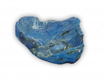 Wurzelholz Schale Rustika klein Ø 30cm in Frosted Blau (4 Stück)