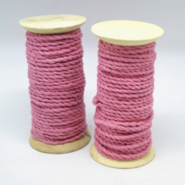 Maulbeerbaum Kordel Schnur in Pink [Ø 6-8mm Länge 10m] (2 Stück)
