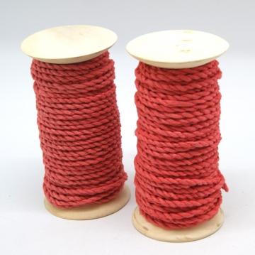 Maulbeerbaum Kordel Schnur in Rot [Ø 6-8mm Länge 10m] (2 Stück)