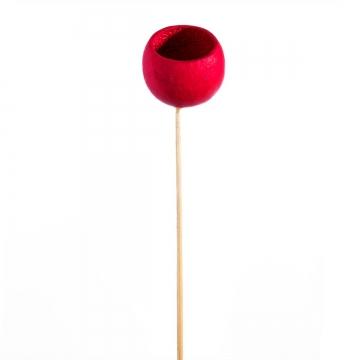 Bell Cup Mini am Stiel in Rot (500 Stück)