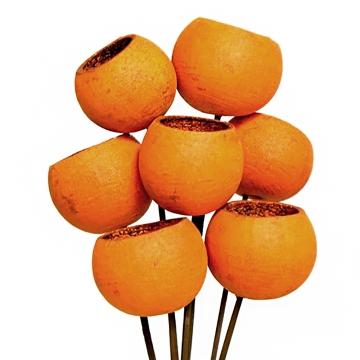 Bell Cup Pumkin in Orange (250 Stück)