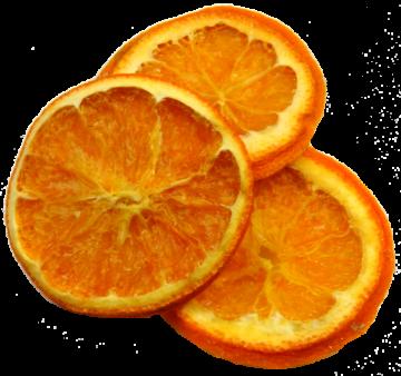Orangenscheiben in Orange (500g) (20 Stück)