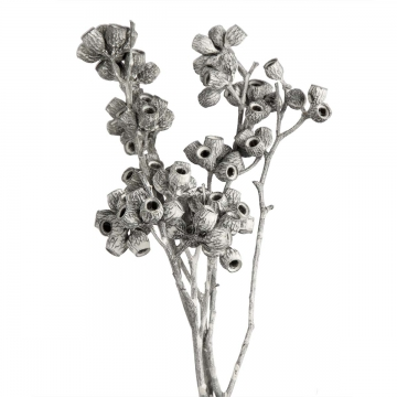 Eukalyptus Zweig mit Stiel in Frosted Blackwashed (350 Stück)