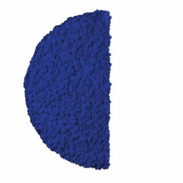 Moos ´Half Moon´ Islandmoos Königsblau Ø 60 cm randbemoost