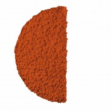 Moos ´Half Moon´ Islandmoos Mandarine Ø 60 cm randbemoost