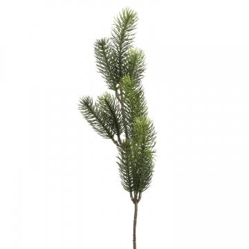 Tannenzweig (Kunst) Grün mit Stiel ( 48cm ) (30 Stück)