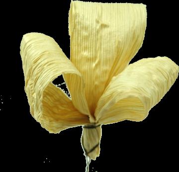 Maisschleife am Draht in Natur   (500 Stück)
