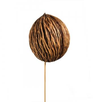 Mintolla Ball am Stab in Natur      (250 Stück)
