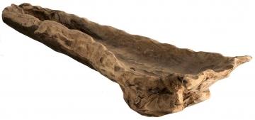 Wurzelholz Schale ca. 90cm lang in Natur