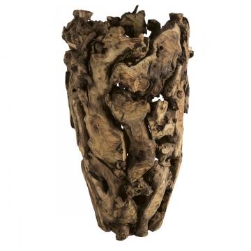 Wurzelholz Vase mittel ca. 55cm Hoch Natur