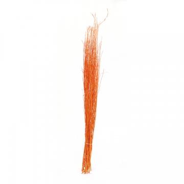 White Lady Deko Zweige in Orange ( ca. 1m )