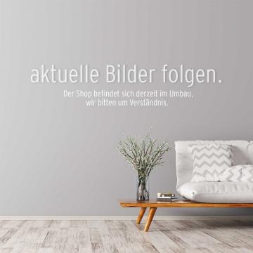 Moosbild ´Pflanze´ 80 x 80 cm mit weißem Tischlerrahmen